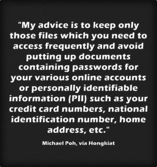 My advice is to keep only those files which you need to access frequently  and avoid