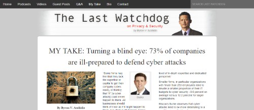 Byron Acohido's Last Watchdog on Privacy & Security