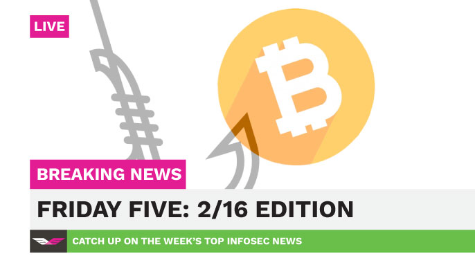 Friday five 216 edition digital guardian data protection jobs bitcoin phishing and amazon s3 leaks catch up on the weeks infosec news with this roundup ccuart Images