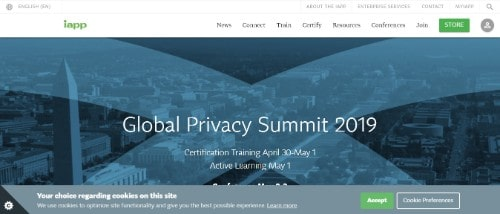 IAPP Global Privacy Summit