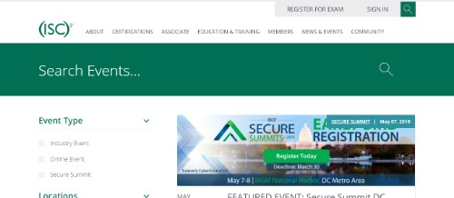 (ISC2) - International Information Systems Security Certification Consortium