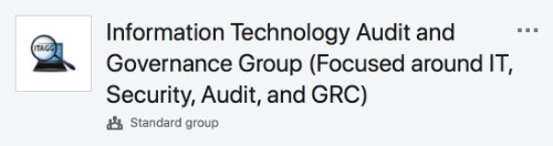 Information Technology Audit and Governance Group (ITAGG)