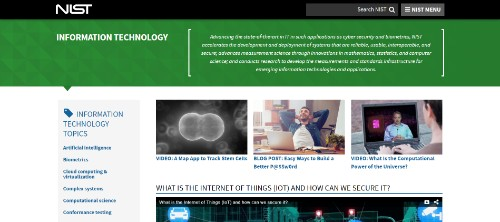 Information Technology Portal (National Institute of Standards and Technology)