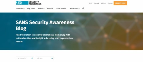 SANS Security Awareness Training Blog