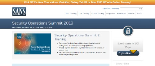 Security Operations Summit