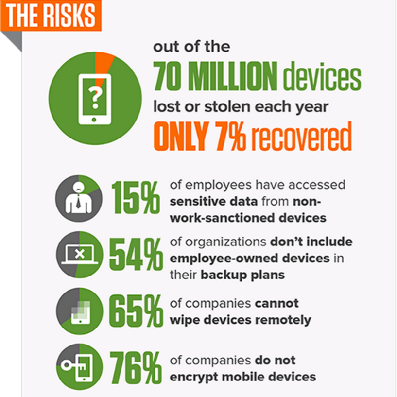 BYOD Risk Infographic