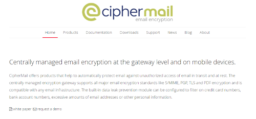 CipherMail App