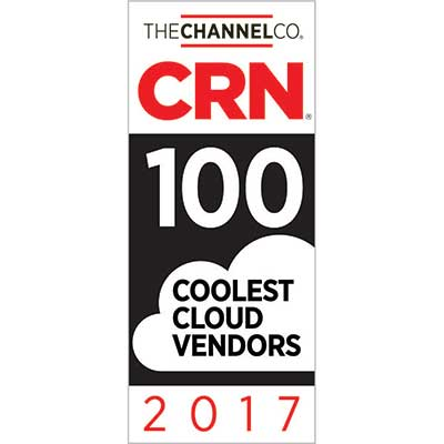 CRN 100 Coolest Cloud Vendors Award