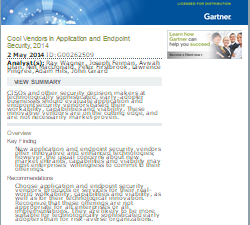 The Gartner Market Guide for Endpoint Detection and ...
